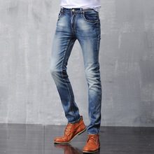 Famous Brand Men DSQ Slim Straight Robbin Jeans Men Homme Biker Jeans Cool Bleached Denim Pants Trousers