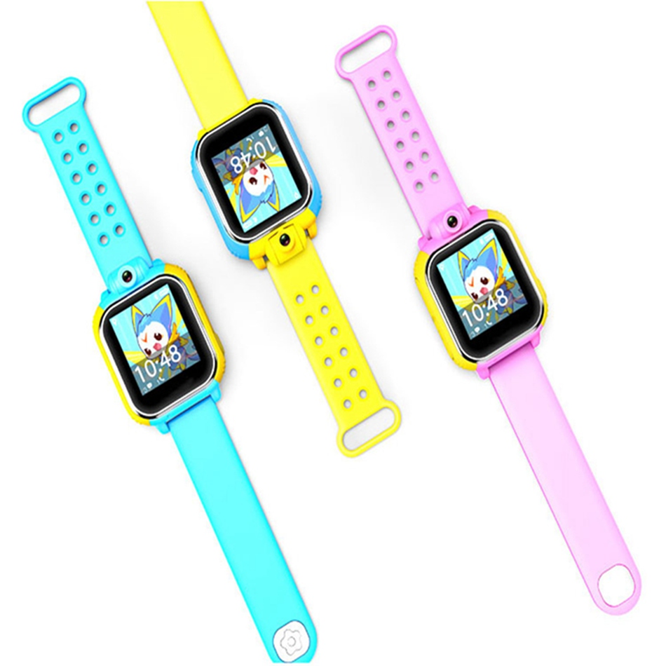Bakeey Q730 Детские умные часы gps Сенсорный экран карты обучения вызова 3 г Камера студент местоположение устройства Tracker Анти- потерял часы