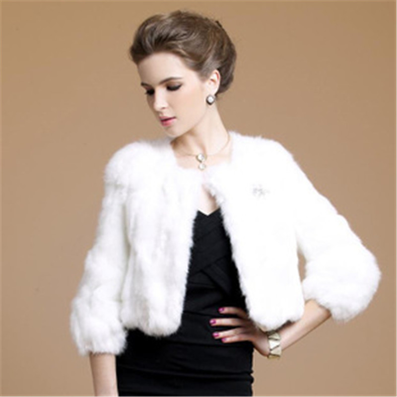 Fur Short Coat - Coat Nj
