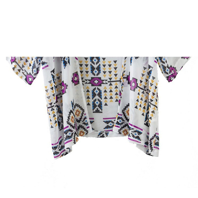 Estilo Impresas Size Blusas Camisas Plus Vintage Verano Kimono Mujeres Tops Nuevo Camisa Cardigan 2016 Femeninas 46nYYaq8E