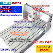 From UK/Germany free VAT 6040  CNC Router Milling Machine Mechanical Kit Screw Aluminum Clamp  80mm цена в Москве и Питере