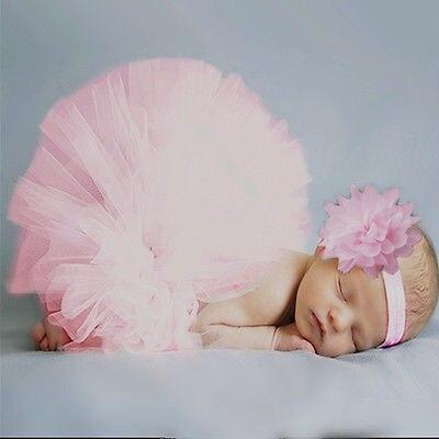 Amichevole Rosa Newborn Tutu Vestiti Del Pannello Esterno Delle Neonate Lavorato A Maglia Crochet Puntello Della Foto Outfits