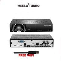 Meelo Turbo DVB S2/C/T2 Linux Спутниковый ресивер IPTV 7 сегментов 4 цифры Дисплей Processor 256 МБ flash 512 МБ DDR VS meelo + Se