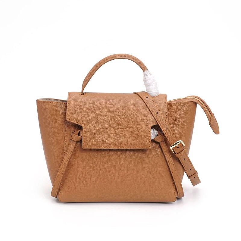 купить PRAVESDA 2018 ladies Cow leather handbags women wing style tote bags big crossbody bags по цене 4829.18 рублей