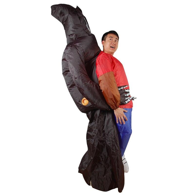 Купить Серьги рука скелета-призрака надувной взрослый костюм