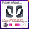 for Peugeot 307 307sw 2001 2011 Mudflap Fender Mudguard Mud Flaps Guard Accessories 2002 2003 2004 2005 2006 2007 2008 2009 2010 review