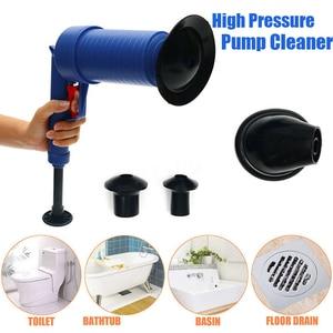 Image 1 - Drop Shipping Home wysokociśnieniowy powietrzny udrażniacz Blaster tłok pompy zlew rura płyn do udrażniania rur toalety łazienka zestaw do czyszczenia kuchni