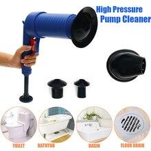 Livraison directe maison haute pression vidange dair Blaster pompe plongeur évier tuyau colmatage décapant toilettes salle de bains cuisine nettoyant Kit
