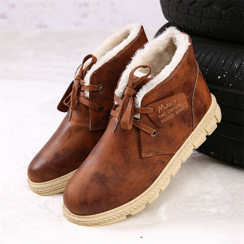 Compare Prices on Leather Winter Boots Men- Online Shopping/Buy ...