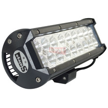2pcs LED LIGHT BAR 54W SPOT FLOOD FOR 54w OFF ROAD LED BAR IP67 4WD ATV UTV SUV LED WORK LIGHT BAR