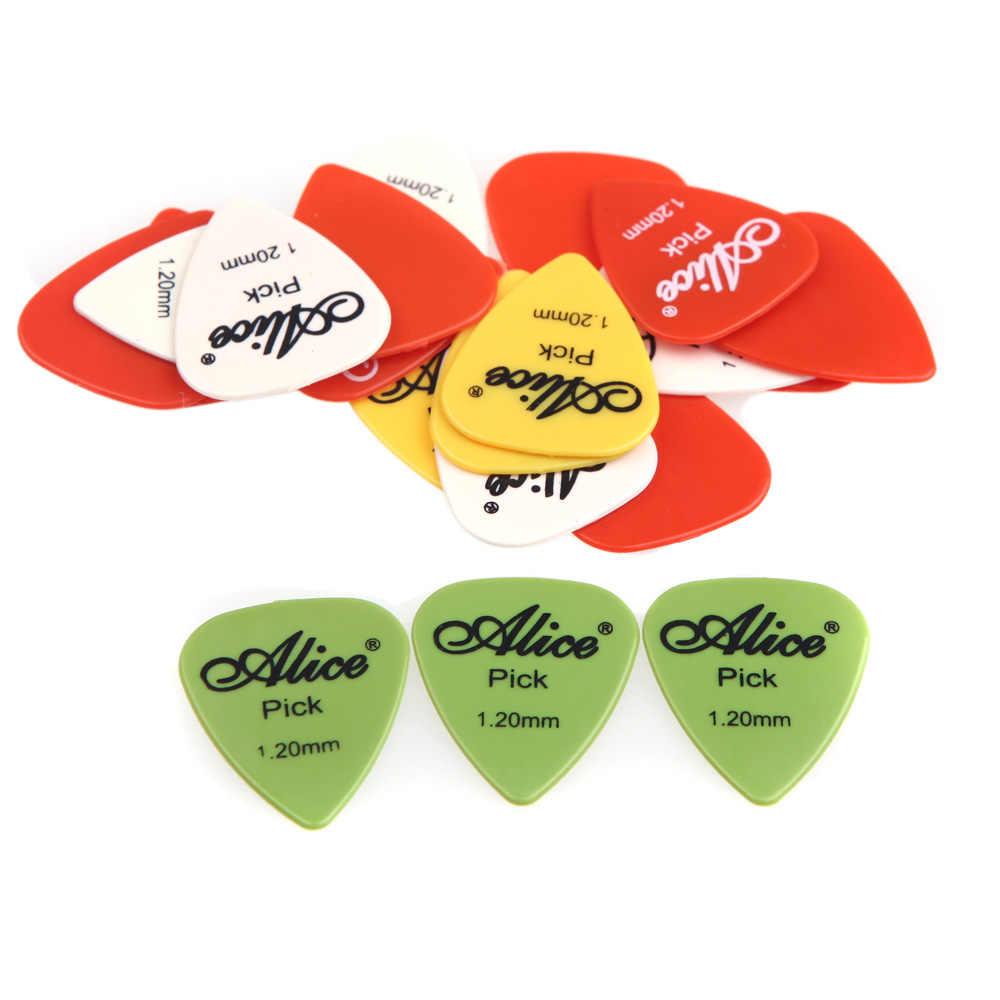 20 штук гитара Alice выбирает 0,58 мм-1,5 мм матовый нейлон материал для Гитары Комплекты медиаторов аксессуары для гитары