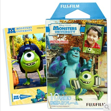 Limitada genuina Fujifilm Instax Mini 8 película Monsters University Fuji instantánea de papel para 8 50 s 7 s 90 25 compartir SP-1 cámara 10 unids