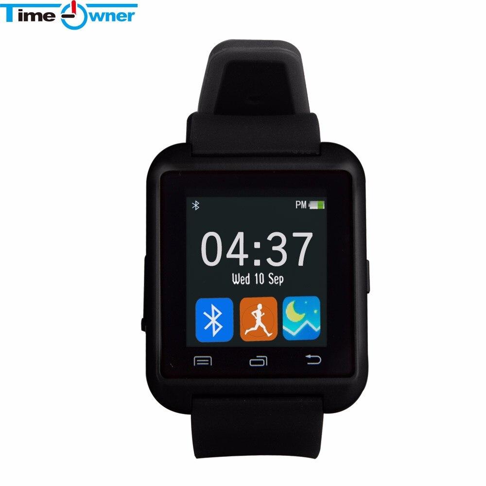 imágenes para Bluetooth U8 Reloj Inteligente Reloj de Notificación de Mensajes Smartwatches para Smartphone Android IOS Relojes Podómetro Cámara Remota