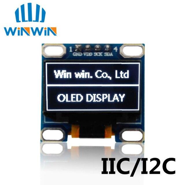 """1pcs 0.96""""white/blue/yellow blue 0.96 inch OLED module 128X64 OLED LCD LED Display Module 0.96""""  IIC I2C Communicate 0.96 oled"""