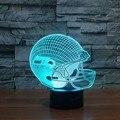 Casa decoração Luminarias Night Light nightlight Lâmpada 3D das Crianças Ilusão Visual Iluminação LED Lampe Humor Luzes 3d