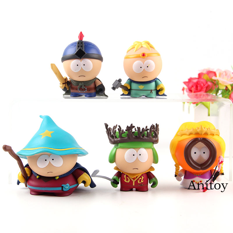 The Stick Of Truth South Park Toys Kenny Mccormick Cartman Stan