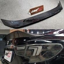 Для Toyota Mark X REIZ спойлер 2010 11 12 13 14 15 16 17 лет Глянцевая углеродное волокно заднее крыло K стиль аксессуары