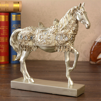 Perfect Quality Horse Shape Vintage Home Decorations Accessories Office Business Living Room Wine Cabinet Ornaments Desk Decor