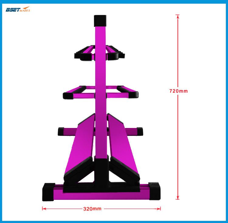Aluminum Alloy Purple Fishing Rod Rack Holder Stand Support Tackle for Fishing Rod Set Capacity 24 Pcs All types of fishing rods