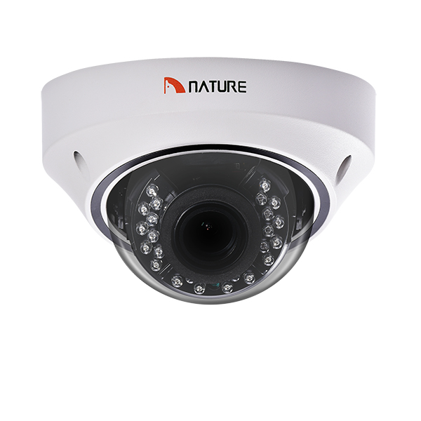 4MP IP camera Motorized lens  Security CCTV Camera Metal Vandal-proof Dome CCTV Camera IK10  Mobile  surveillance  POE  camera