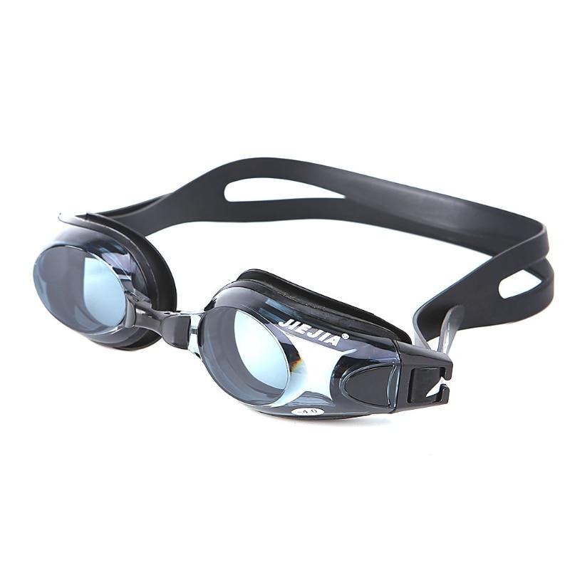 Swimming Pro Optical Myopia Nearsighted Goggle Swim Glasses Anti-fog Waterproof