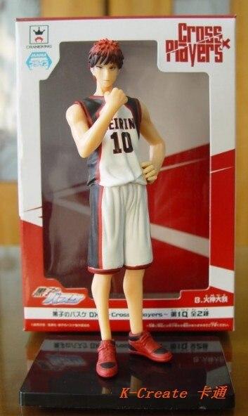 ФОТО Free shipping 1pcs Japana anime the basketball which kuroko plays Kagami Taiga pvc figure model tall 18cm.1pcs newest doll sell.
