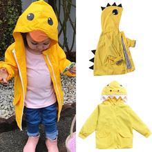 Toddler Baby Boy Windbreaker Girl kids jacket Duck Raincoat