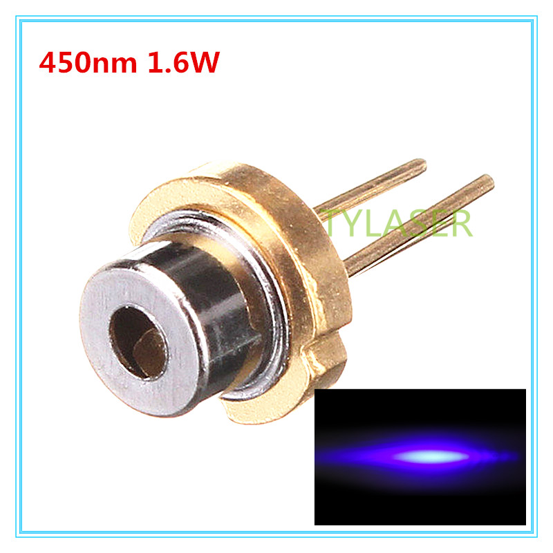 <font><b>450nm</b></font> 1.6W Blue <font><b>Laser</b></font> <font><b>Diode</b></font> D5.6mm OSRAM PLTB450B/TO56 image