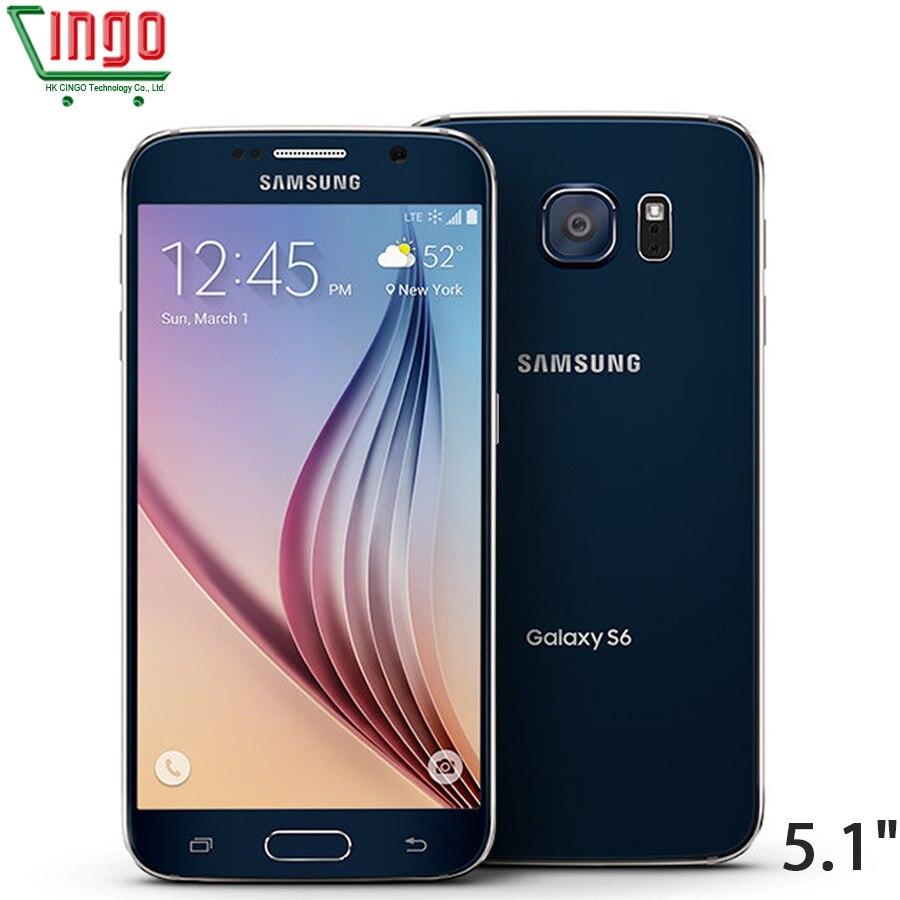 Sbloccato Samsung Galaxy S6 Bordo G925F/S6 G920F 4g LTE Mobile phone 3 gb di RAM 32 gb di ROM octa Core 5.1