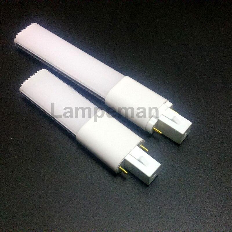 DHL FedEx, UPS Hipping G23 LED лампа ультра тонкий 4 Вт 6 Вт 8 Вт 10 Вт pl свет яркость Светодиодная лампа 8 Вт Заменить CFL свет Бесплатная доставка