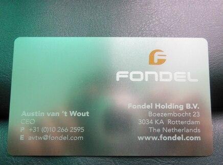 ปฏิทินนามบัตร