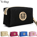 Brand Women Makeup Bags With Cute Cosmetics Pouchs For Party Travel Ladies Pouch Women Cosmetic Bag Christmas Gift