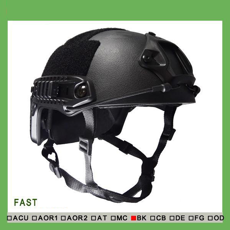 Fast NIJ Level IIIA Bulletproof Helmet Military Tactical Bulletproof Helmet Aramid Ballistic Helmet fast ballistic helmet rapid response tactical helmet mc fg at tan aor1 digital desert bk woodland atfg acu