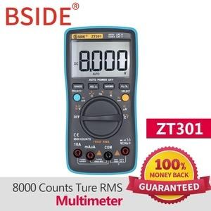 Image 3 - BSIDE ZT301 ZT302 Digital Multimeter 8000 9999 Counts True RMS Multifunction AC/DC Voltage Temperature Capacitance Tester DMM