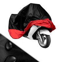 BBQ@FUKA New Motorcycle Waterproof Protective Rain Dust Bike Cover Film XXL Fit For V Star1100 2004 2009 Motorcycle Covers