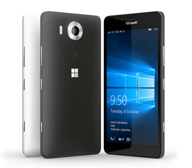 Lumia 950 Nokia Microsoft Original Débloqué Windows 10 Mobile Téléphone 4G LTE GSM 5.2 ''20MP WIFI GPS Hexa Core 3 GB RAM 32 GB ROM