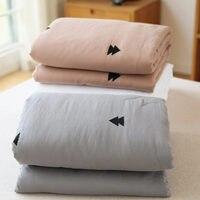 Новое прибытие небольшой свежий двойной слой пряжи 100% хлопок летом прохладно вышивка кондиционирования воздуха полотенца двойной тонкий о...