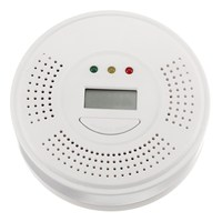 NEW Safurance Audio Carbon Monoxide Detector CO Gas Alarm Warning Sensor Monitor Home Kitchen Security Safety