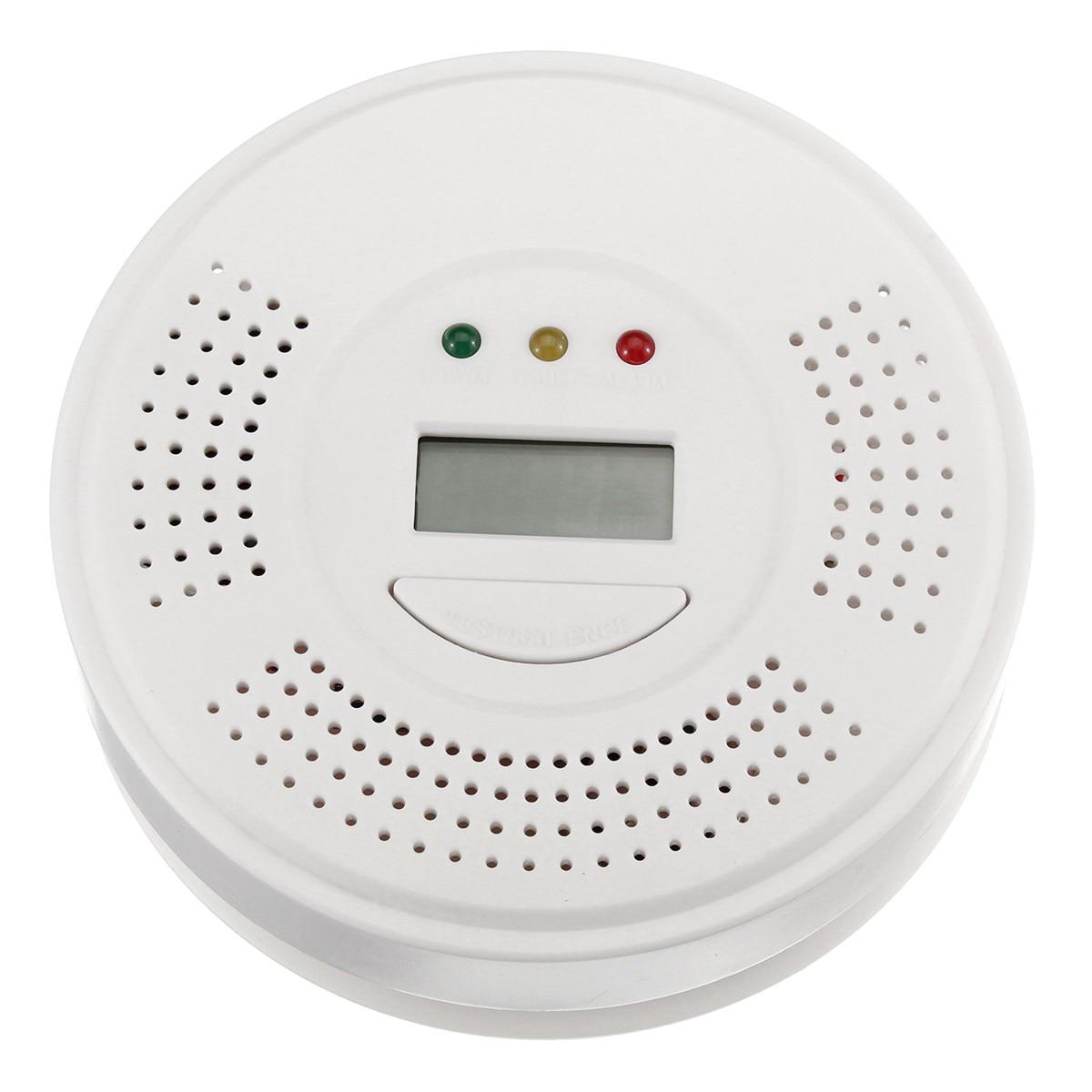 NEW Safurance Audio Carbon Monoxide Detector CO Gas Alarm Warning Sensor Monitor Home Kitchen Security Safety handheld gas detector alarm portable oxygen detector co concentration carbon monoxide monitor 0 999 ppm co gas analyzer meter