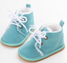 New Suede Leather Newborn Baby Shoes