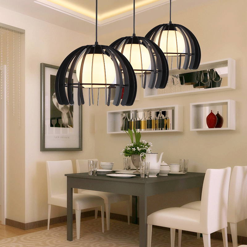 pendant lights hanging painted lamp Nordic Retro Light dining room kitchen led pendant lamp Industrial indoor home Lighting 5pcs lot protection circuit module 2s 7a bms pcm pcb battery protection board for 7 4v polymer lithium ion battery pack