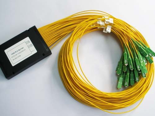 Catv 1 x 32 ABS 1 32 SC / APC PLC Splitter módulo 1 * 32 de fibra óptica PLC Splitter