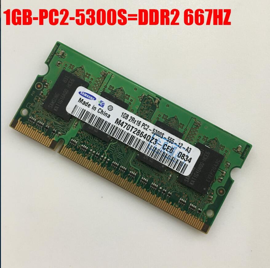 Samsung 1 GB 2 GB 4 GB 1G 2G 4G PC2 PC3 DDR2 DDR3 667 1066 1333 1600 HZ 5300 S 6400 S 8500 S memoria RAM Del Computer Portatile Varietà di opzioni
