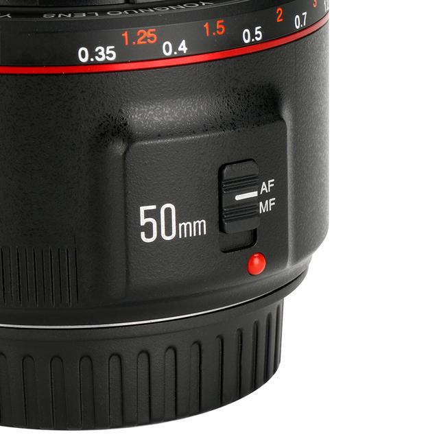 Yn50Mm F1.8 Ii Fixed Lens Af/Mf 50Mm