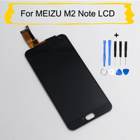 High Quality New LCD Display For MEIZU M2 Note Touch Screen With Digitizer Glass Assembly Replacement