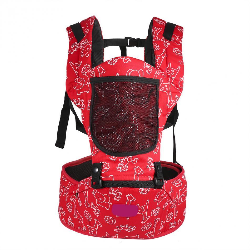 Ergonomic Breatheable Adjustable Ergonomic Baby Carrier Hip Seat For Newborn 7