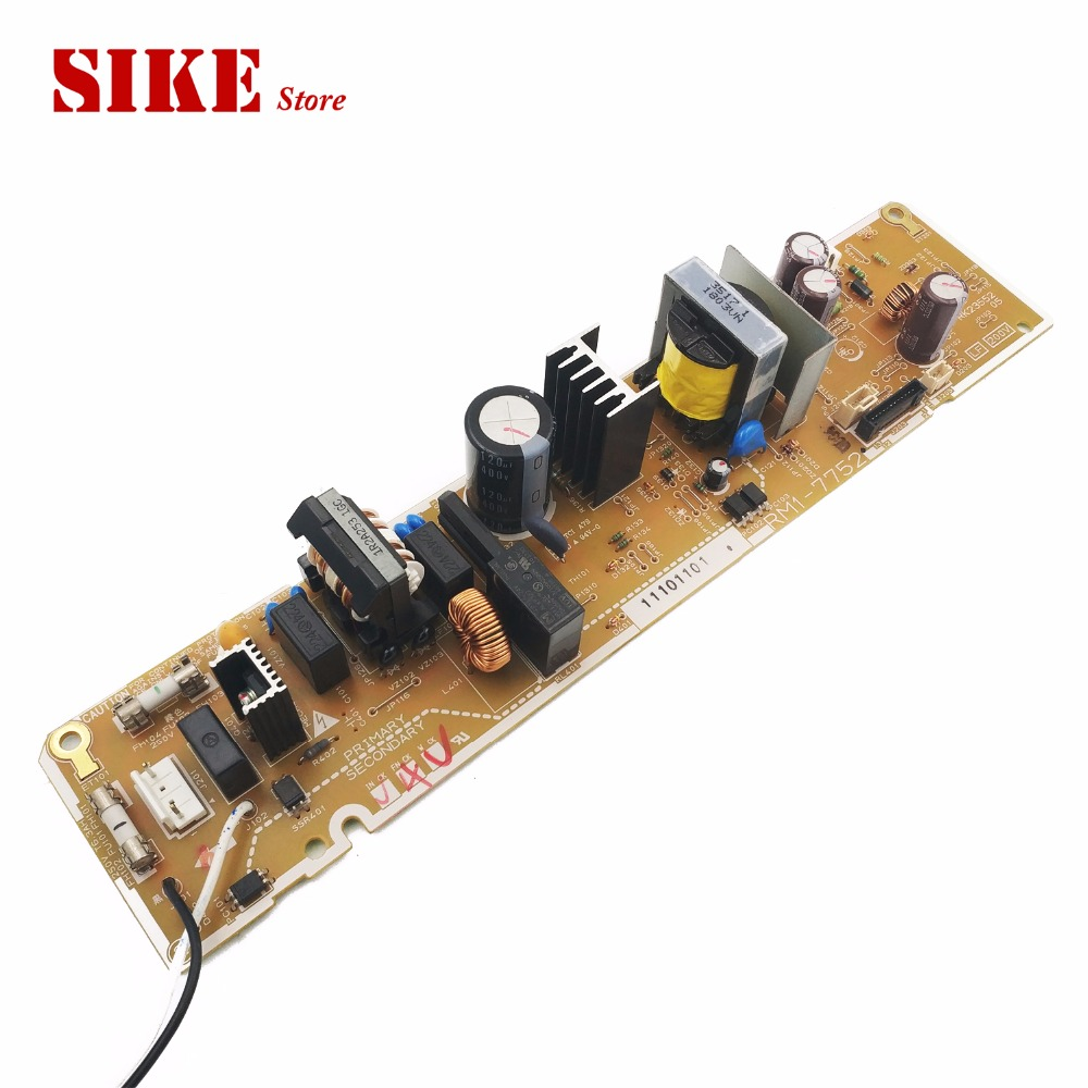 LaserJet Engine Control Power Board For HP CP1025 CP1025NW 1025 1025NW RM1-7752 RM1-7751 Voltage Power Supply Board laserjet engine control power board for hp color laserjet cm1015 cm1017 rm1 4364 rm1 4363 1015 1017 voltage power supply board