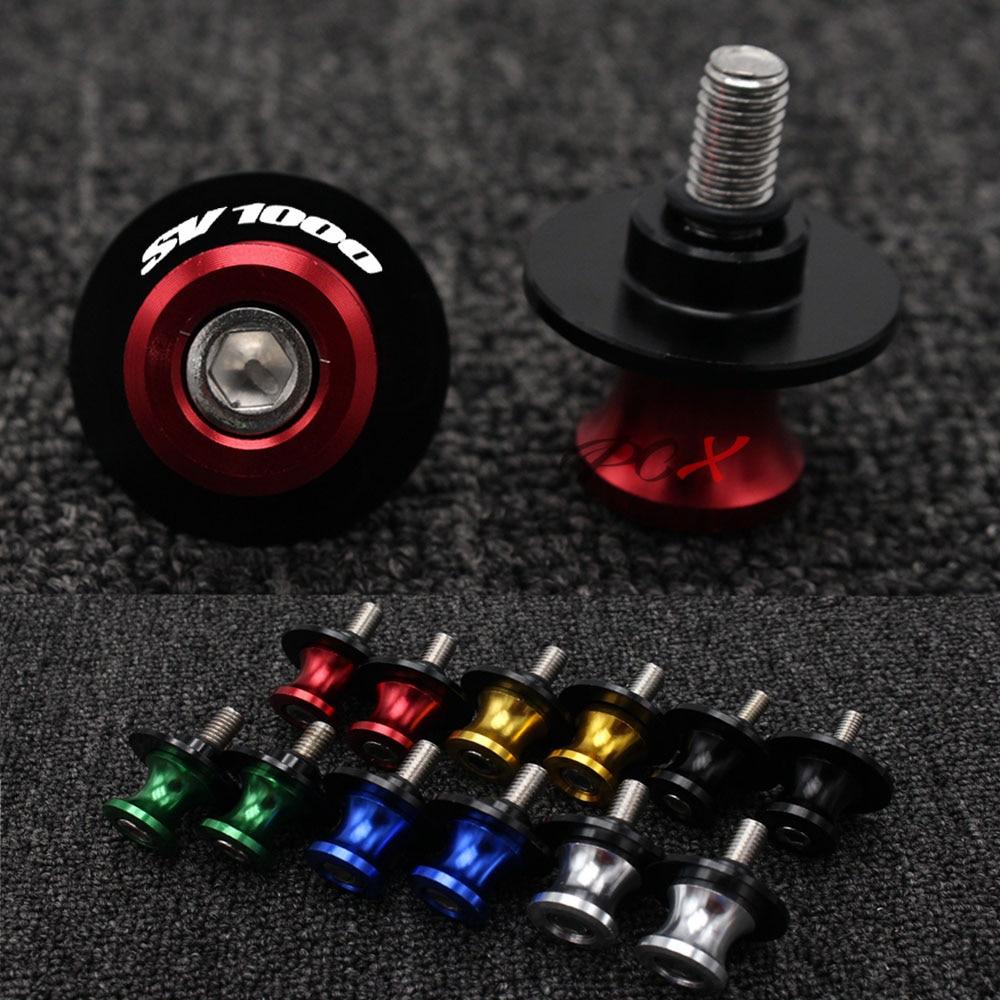 Маятниковая Ползунки Катушки стенд с винтами слайдер 8 мм с ЧПУ; Обувь для езды на мотоцикле SUZUKI SV1000/S SV1000 1000 S на весь год