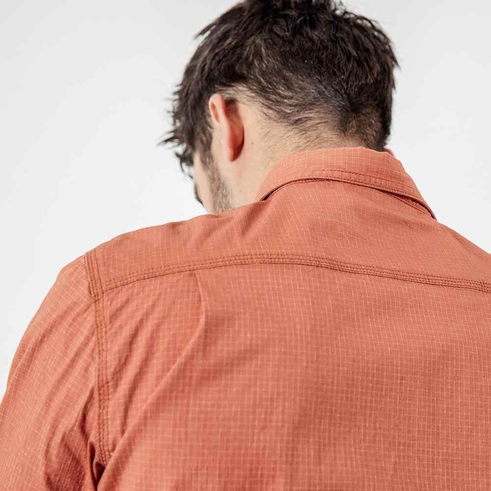 SIMWOOD 2019 秋夏カジュアル格子縞のシャツの男性高品質マイクロチェックシャツ男性プラスサイズ高品質の衣料品 190214