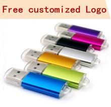 variety color usb flash drive 32gb pen 16gb 8gb 4gb USB memory 2.0 stick pendrive with 100PSC/1bag free shipping